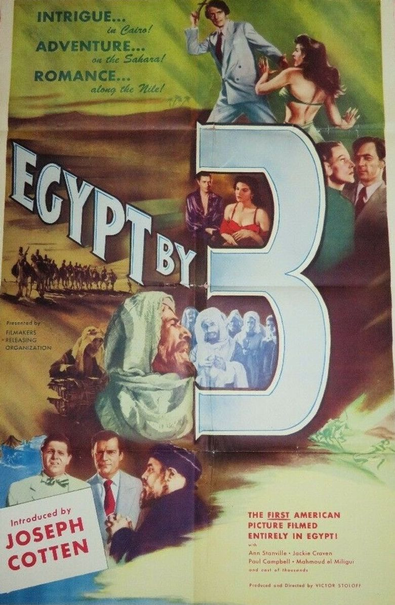 Egypt by Three Poster