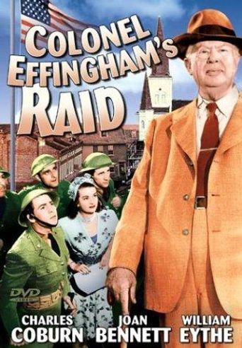 Colonel Effingham's Raid Poster