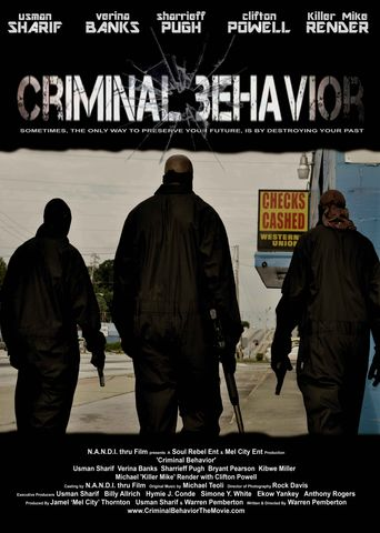 Criminal Behavior Poster