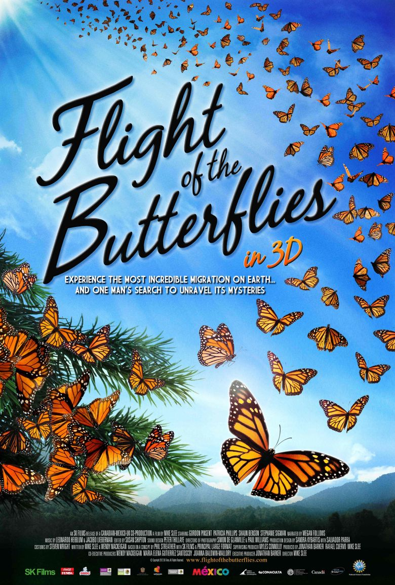 Flight of the Butterflies Poster