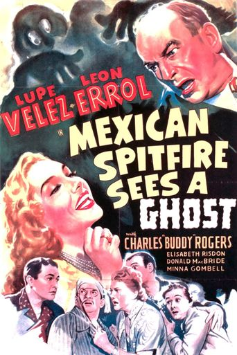 Mexican Spitfire Sees a Ghost Poster