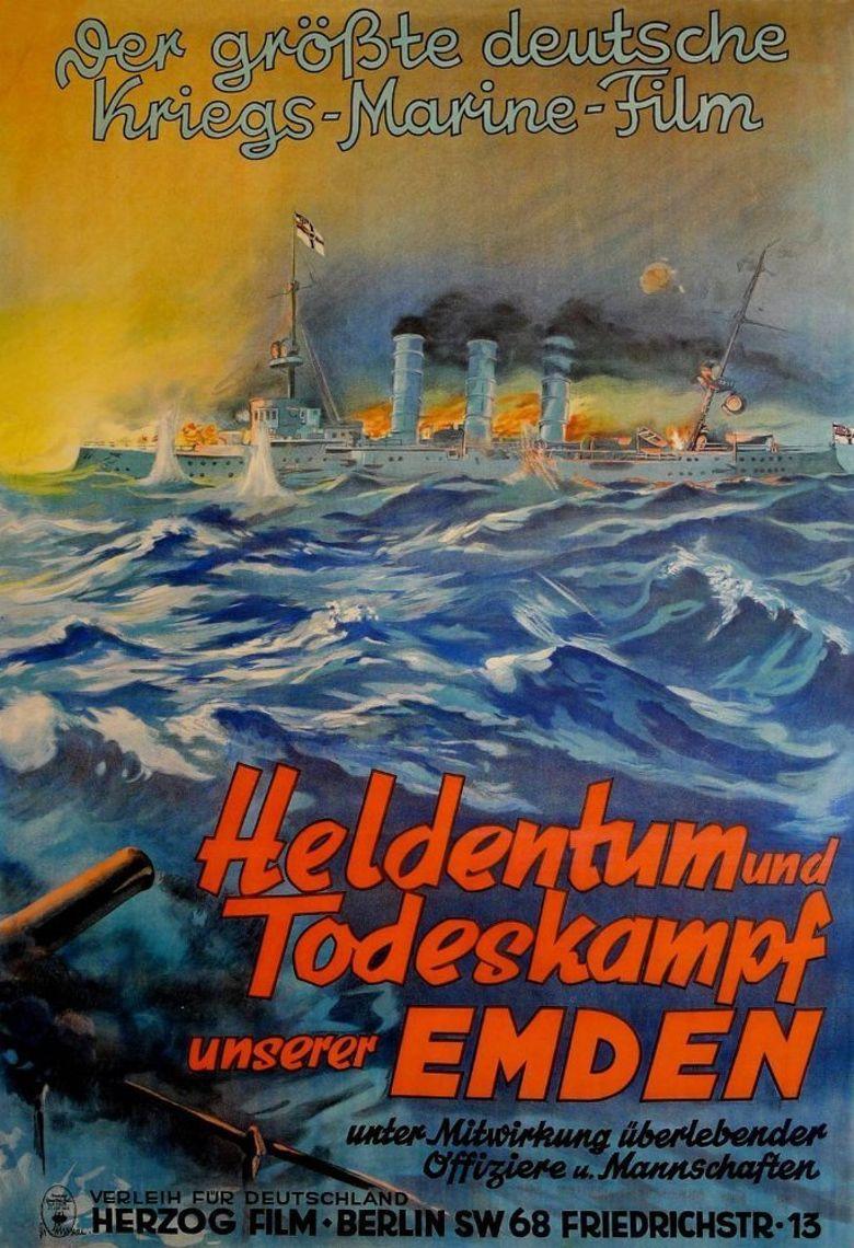 Heldentum und Todeskampf unserer Emden Poster