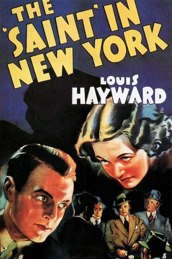 The Saint in New York Poster