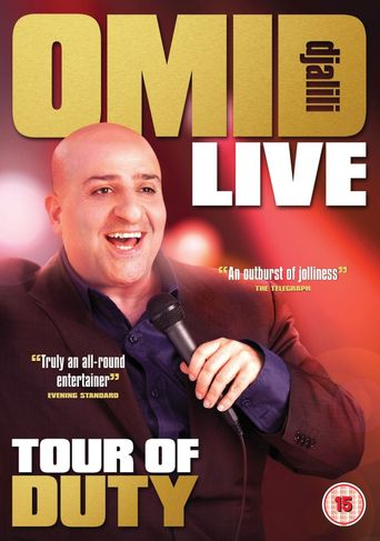 Omid Djalili - Tour Of Duty Poster