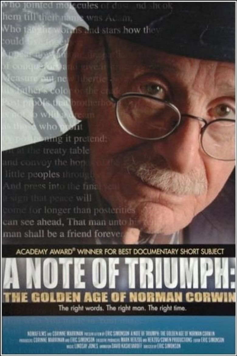 A Note of Triumph: The Golden Age of Norman Corwin Poster