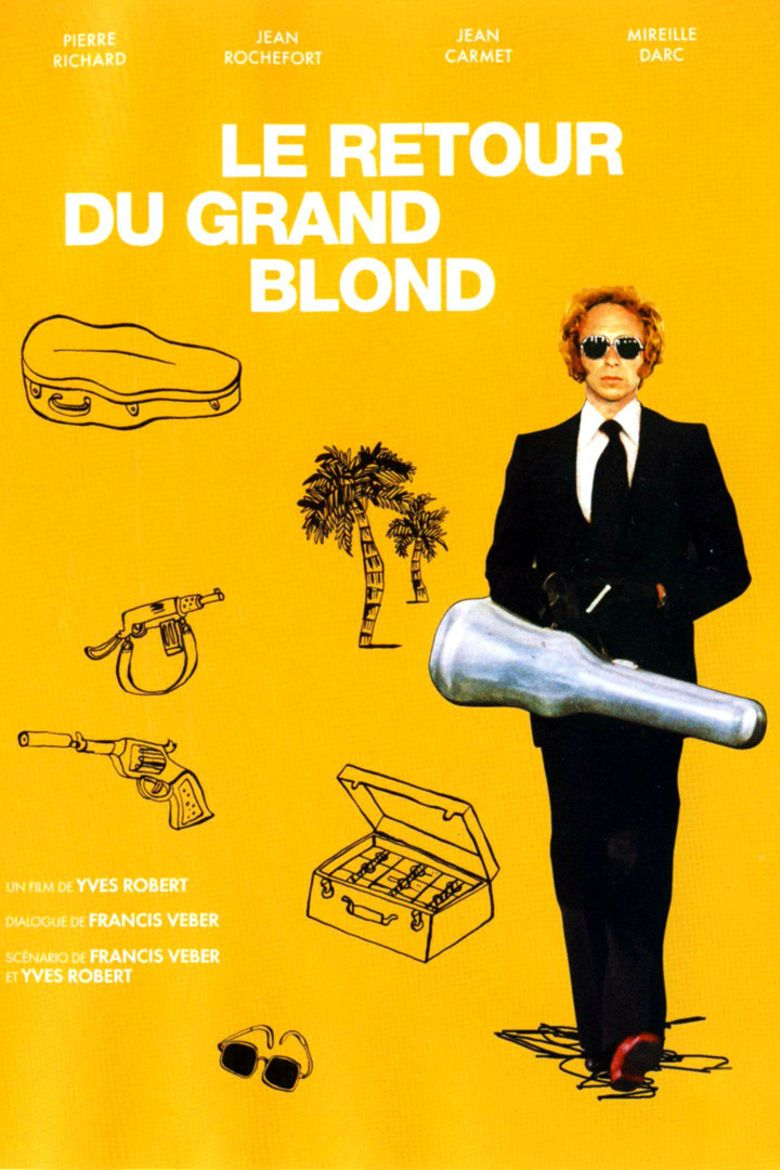 The Return of the Tall Blond Man with One Black Shoe Poster