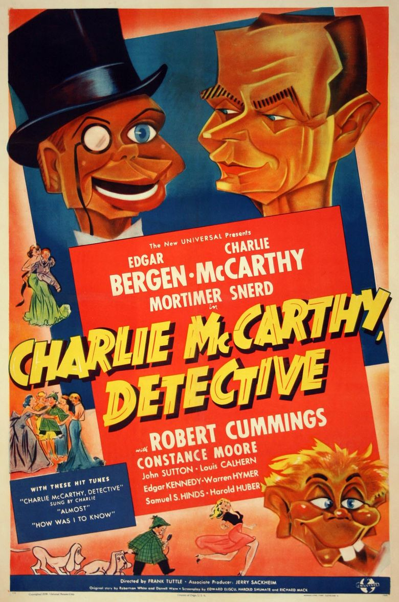 Charlie McCarthy, Detective Poster