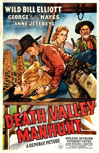 Death Valley Manhunt Poster