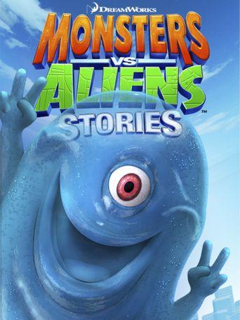 Monsters vs. Aliens Stories Poster