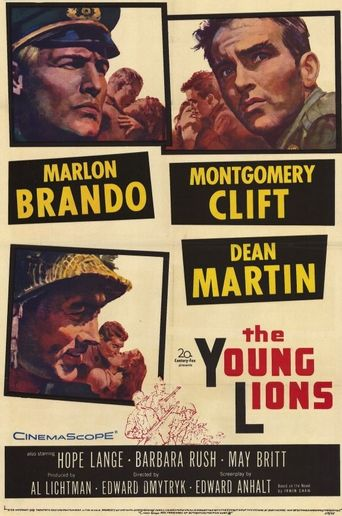 The Young Lions Poster