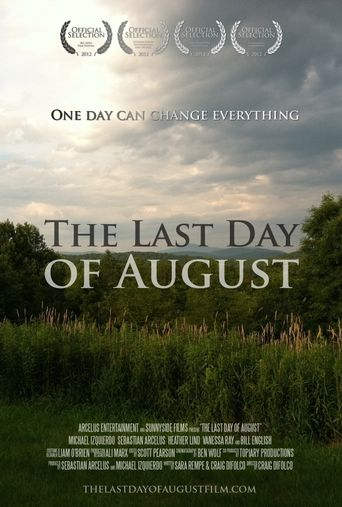 The Last Day of August Poster