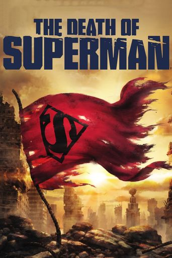 The Death of Superman Poster