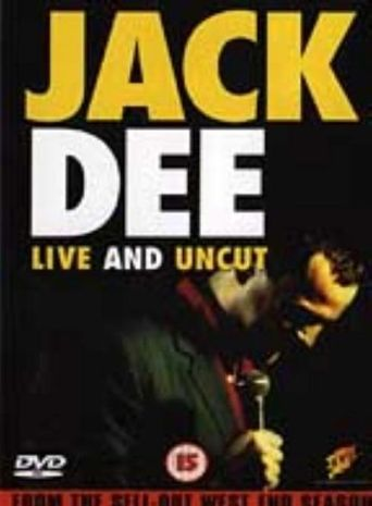 Jack Dee Live And Uncut Poster