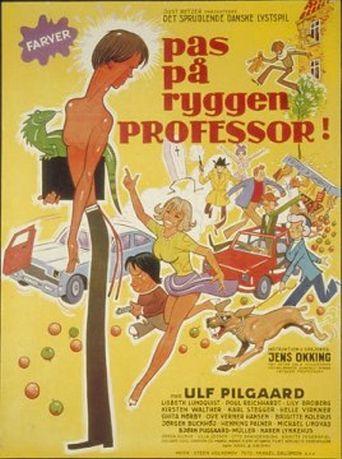 Pas på ryggen, professor! Poster