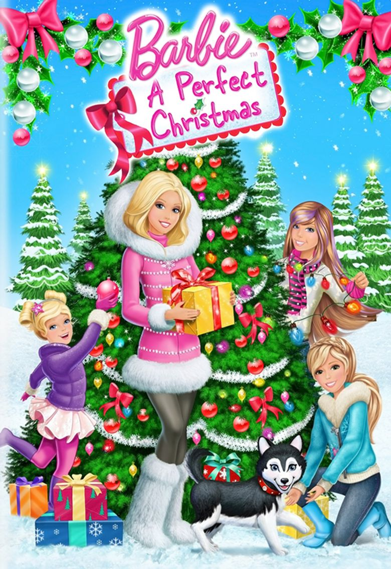 Barbie: A Perfect Christmas Poster