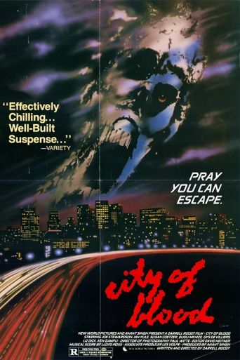 City of Blood Poster