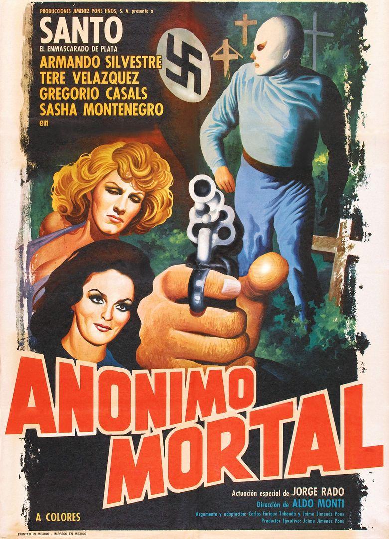 Santo en Anónimo mortal Poster
