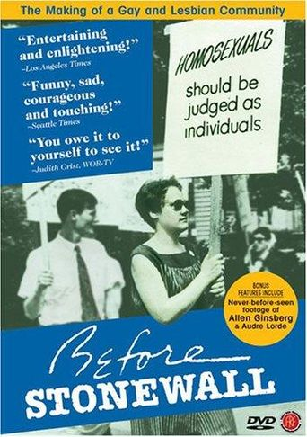 Watch Before Stonewall