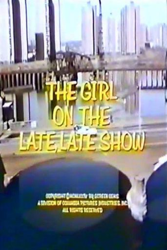 Girl on the Late, Late Show Poster