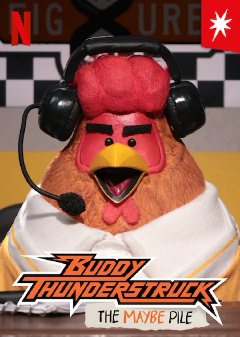 Buddy Thunderstruck: The Maybe Pile Poster