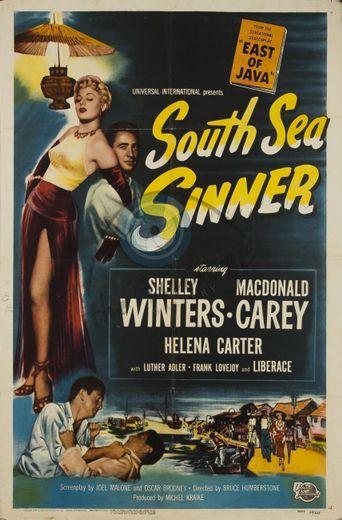 South Sea Sinner Poster