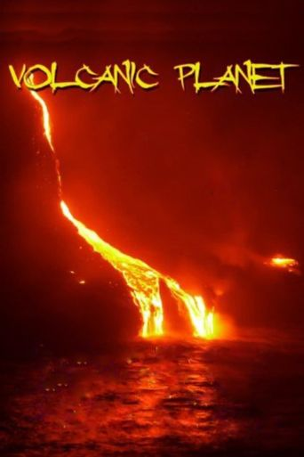 Volcanic Planet Poster