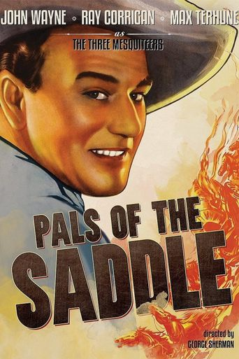 Pals of the Saddle Poster