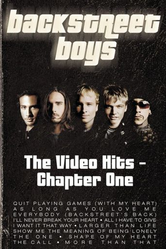 Backstreet Boys: Video Hits - Chapter One Poster