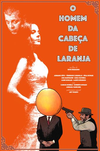 The Man With the Orange Head Poster