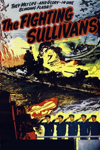 The Fighting Sullivans Poster