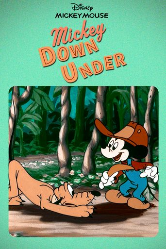 Mickey Down Under Poster