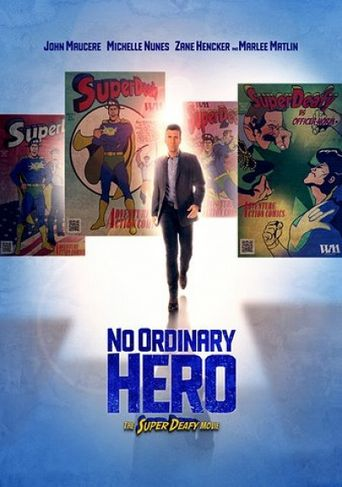 No Ordinary Hero Poster