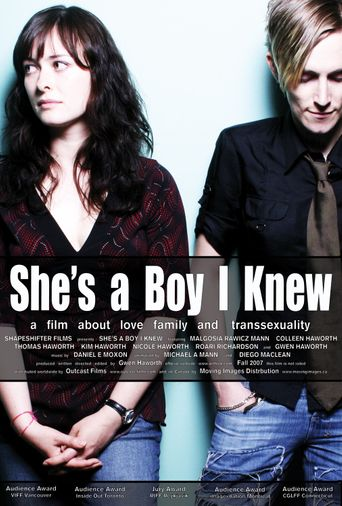 She's a Boy I Knew Poster