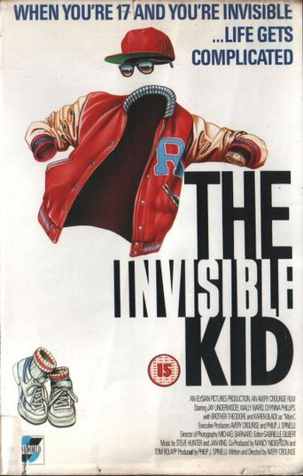 The Invisible Kid Poster