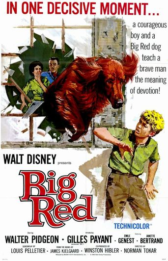 Big Red Poster