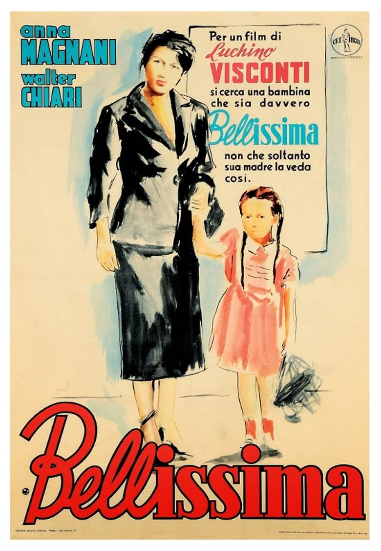 Bellissima Poster