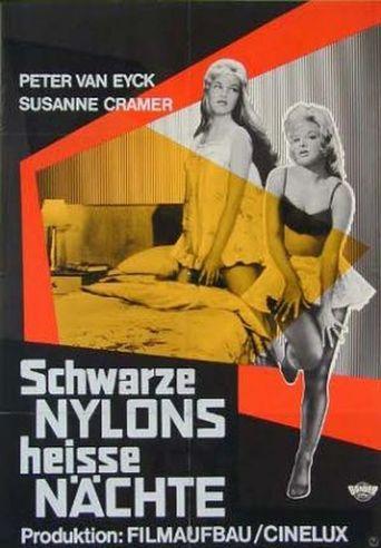 Schwarze Nylons – Heiße Nächte Poster