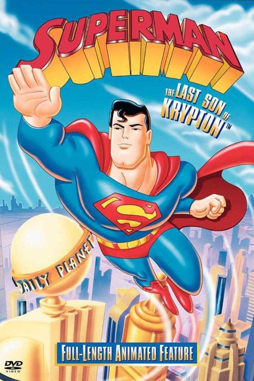 Superman - The Last Son of Krypton Poster