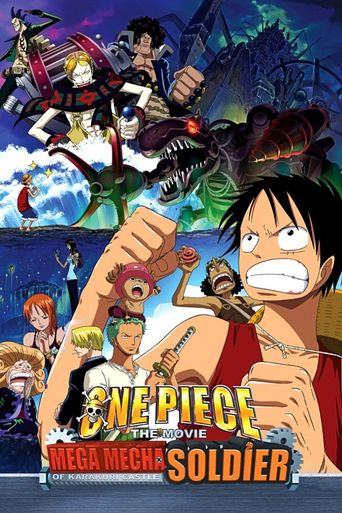 One Piece: Giant Mecha Soldier of Karakuri Castle Poster