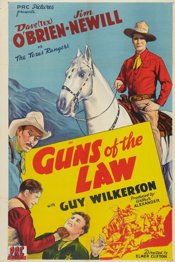 Guns of the Law Poster