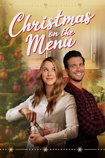 Christmas on the Menu Poster