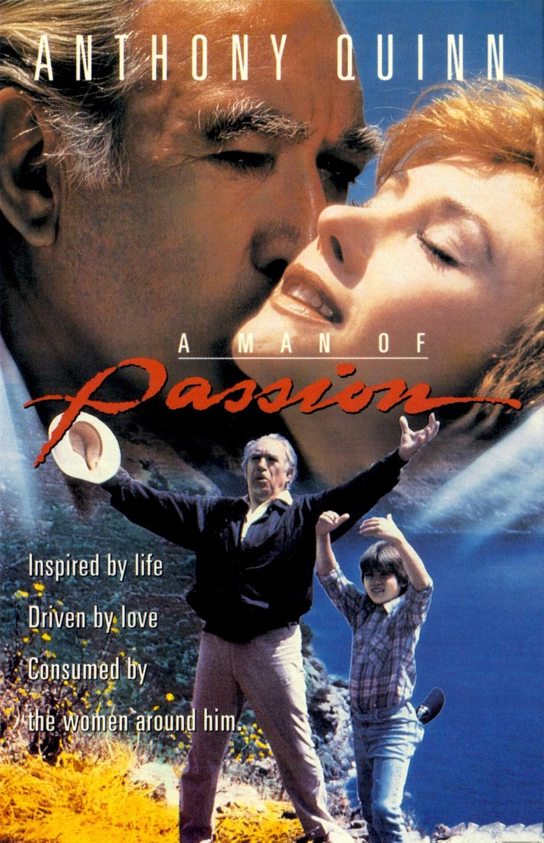 A Man of Passion Poster