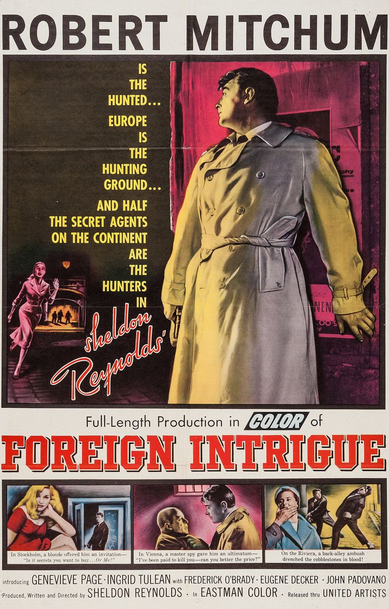 Foreign Intrigue Poster