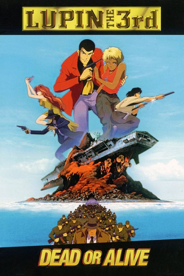 Lupin the Third: Dead or Alive Poster