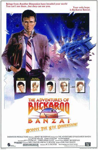 Buckaroo Banzai Declassified Poster