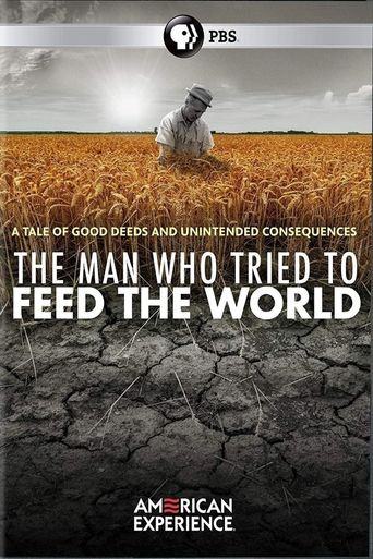 The Man Who Tried to Feed the World Poster