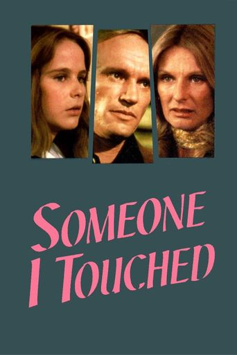 Someone I Touched Poster