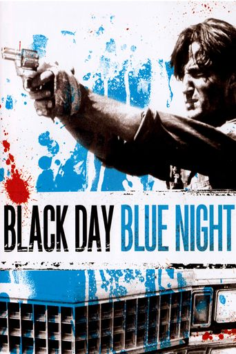 Black Day Blue Night Poster