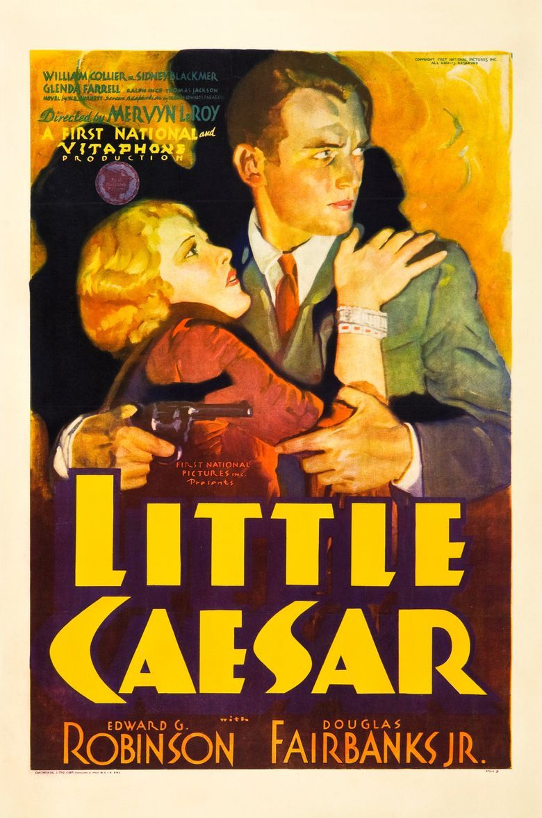 Little Caesar Poster