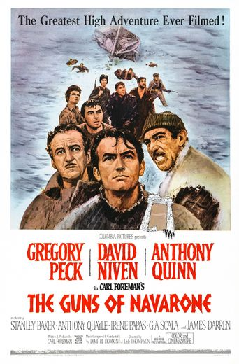 The Guns of Navarone Poster